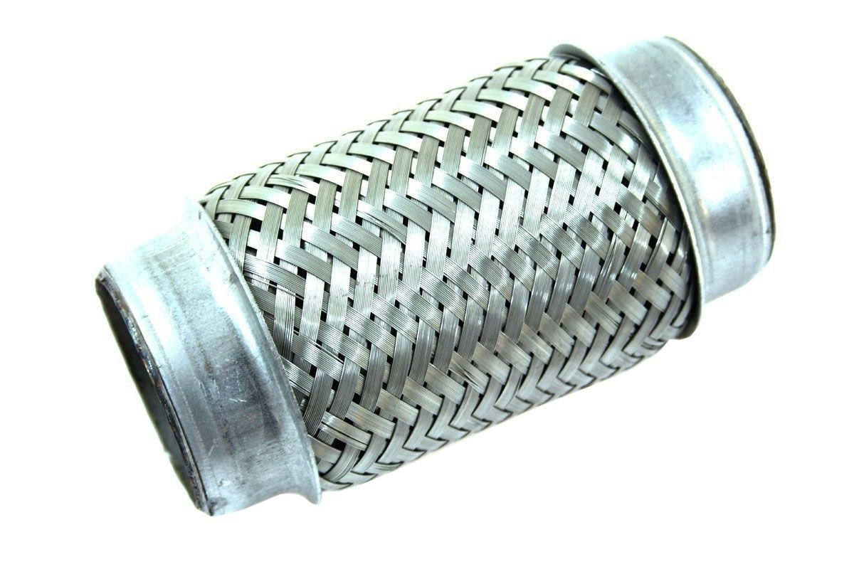 """Łącznik elastyczny wydechu 2,25"""" 155mm nierdzewka - GRUBYGARAGE - Sklep Tuningowy"""